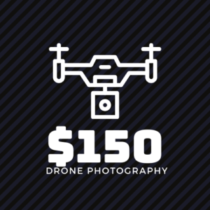 150 dollar drone photography package